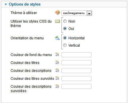 options styles maximenu fr