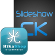Plugin Slideshow CK - Hikashop - Joomla 3.x