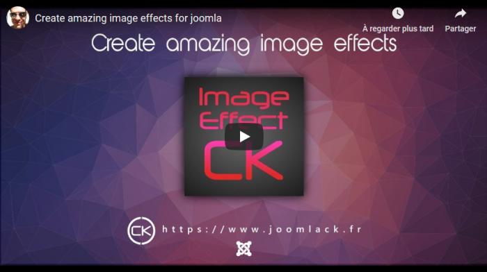image effects video