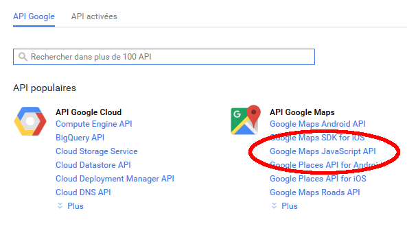 How to use the Googlemap API Key - JoomlaCK - Extensions et