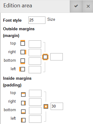responsive styles options